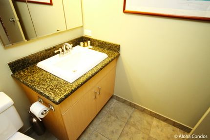 Bathroom - Ilikai Hotel, Unit 1424