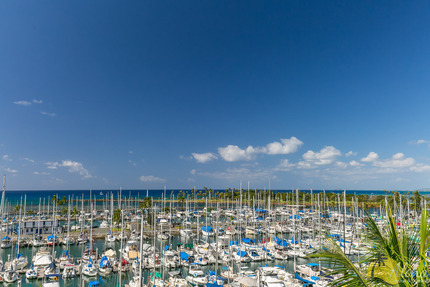 View from Condo 786, Ilikai Marina