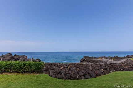 View from Condo 2 102, Keauhou Kona Surf And Racquet Club