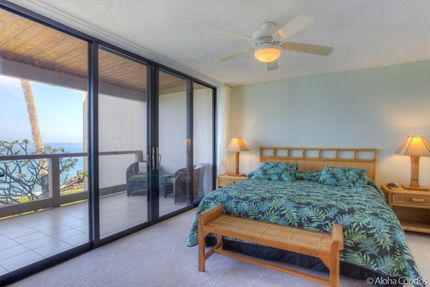 Master Bedroom - Condo 2 203, Keauhou Kona Surf And Racquet Club