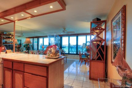 Kitchen - Condo 412, Kaleialoha Resort