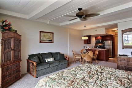 Studio Living Area - Condo 661, Whaler Resort