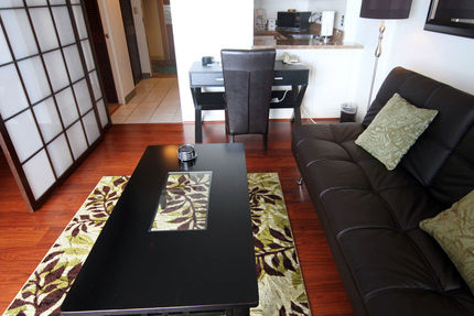 <p>Living Area - Ilikai Hotel And Apartments, Condo 1118</p>