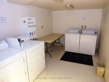 Laundry - Ilikai Hotel & Apartments, Condo 624