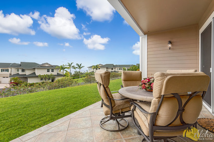 Lanai and View from Townhome I 3, Na Hale O Keauhou