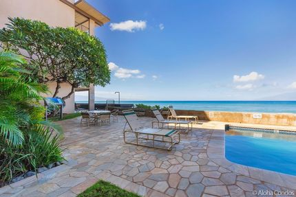 Nohonani Condos And Resort Condo 101 2 Bedroom Beachfront Condo Maui Aloha Condos Homes