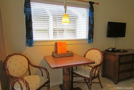Dining Area - Condo 222, Islander On The Beach