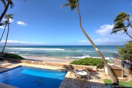 View from Condo Lanai, Condo 200, Nohonani Condos And Resort