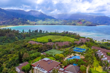 Overview - Condo 6101 02, Hanalei Bay Resort
