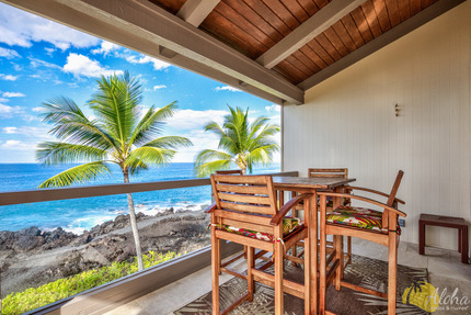 View & Lanai - Condo 1 306, Keauhou Kona Surf And Racquet Club